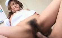 Sweet Asian Nurse Getting Pussy Laid