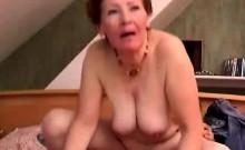 Russian Granny Doggied