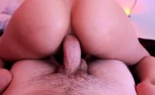 Beautiful girl riding a dick