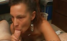 Stupid and homeless mom is welling to sucks every cocks for