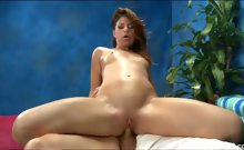 Hot 18 year old Mia gives MORE than just a massage!
