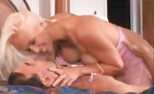 Hot Blonde Wife Rides a Dick